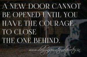 close the door www.dailyinspirationalquotes.in